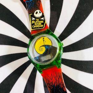 Vintage Nightmare Before Christmas plastic watch